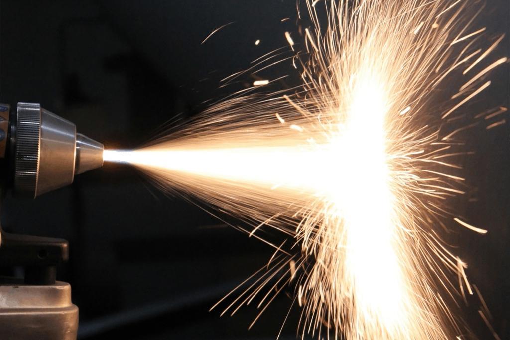 Equipamento de metalização por aspersão térmica