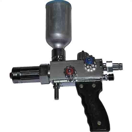 Manutenção de pistolas de metalização