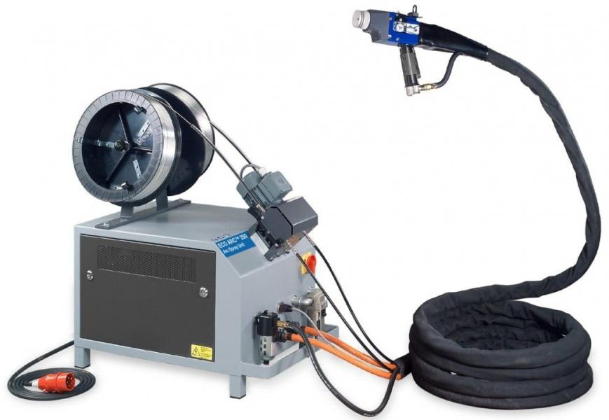 Máquina para aspersão térmica