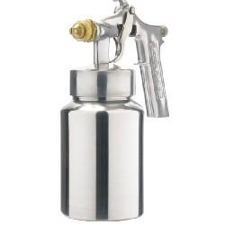 Pistola de pintura ar direto aluminio