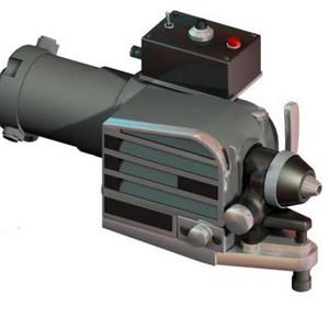 Pistola para metalização por chama a gás